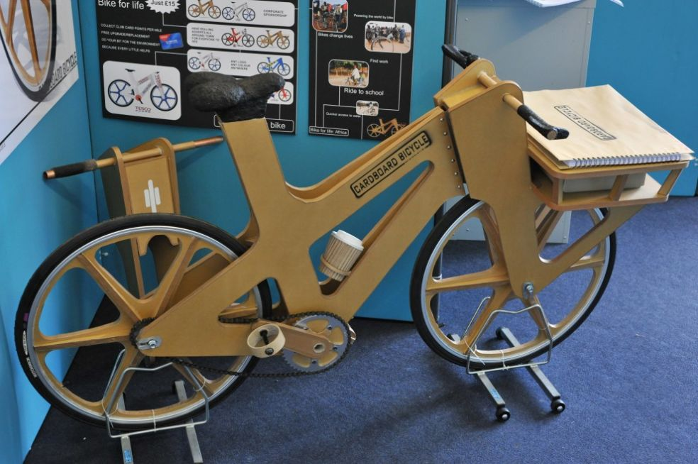 307Как сделать велосипед из картона