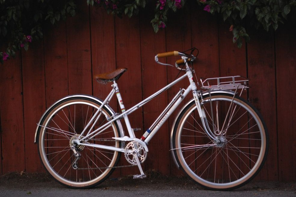 peugeot старый велосипед