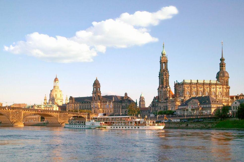 Дрезден - немецкая Флоренция-на-Эльбе