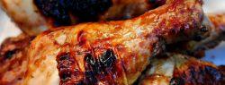 Куриные голени в глазури из джема