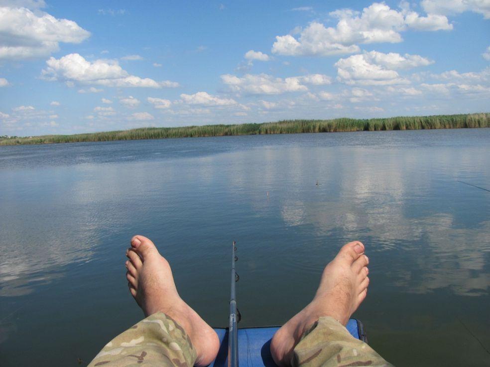 рыбалка на липецком море видео