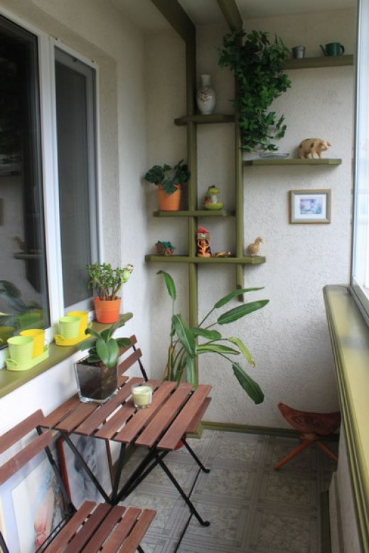 How to add storage to a small balcony small room ideas.