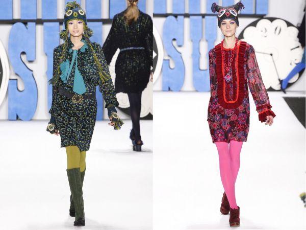 мода 50 х годов платья