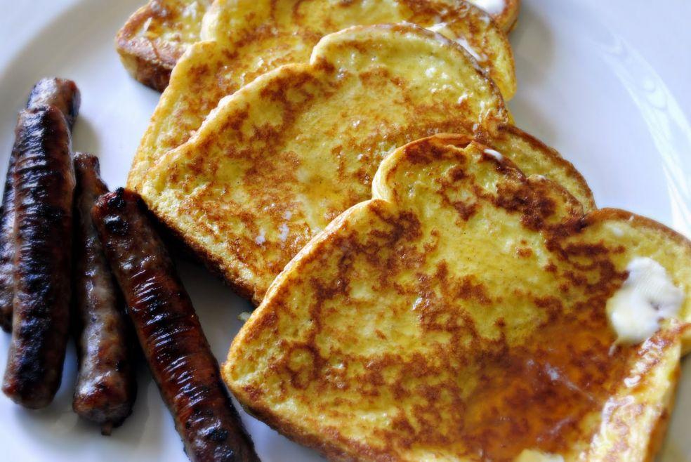 Французские тосты с ванилью и кардамоном фото-рецепт