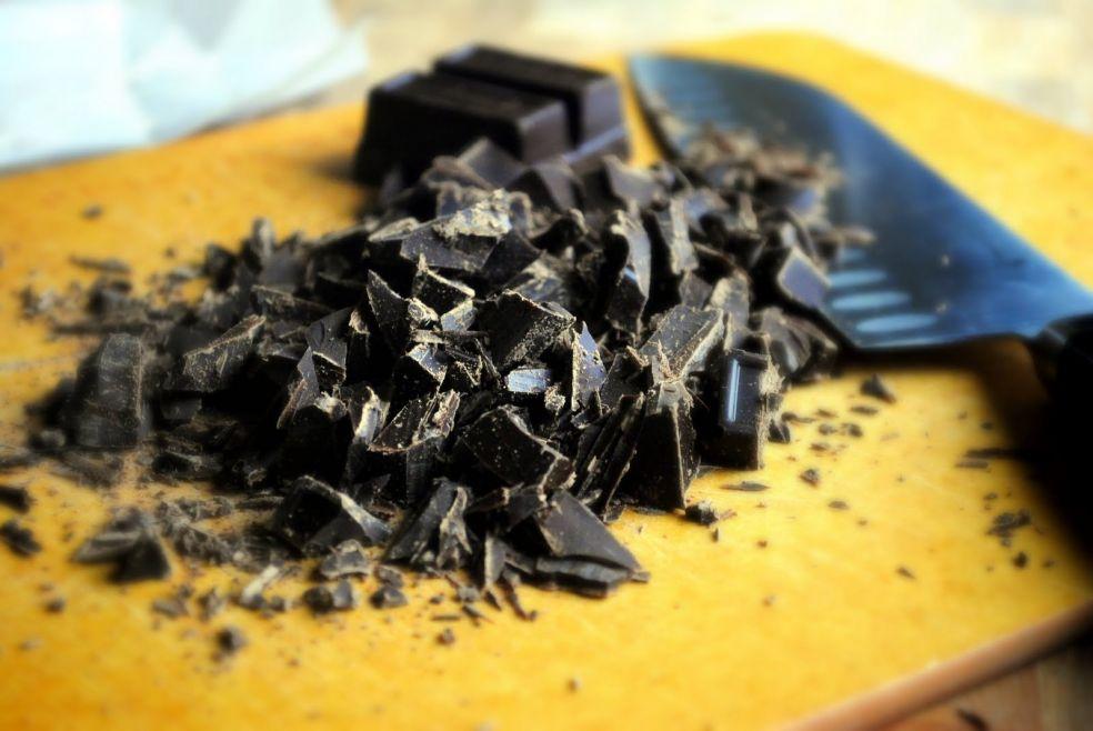 Пирог с шоколадной помадкой фото-рецепт