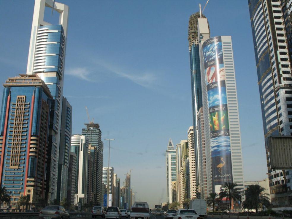 Небоскребы Дубаи