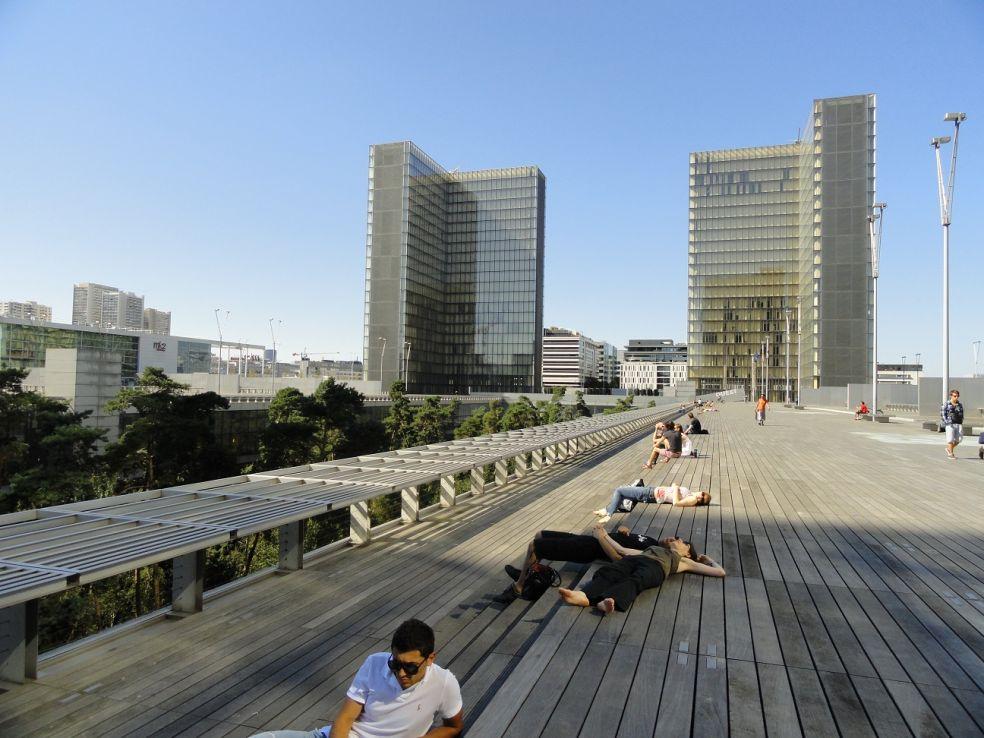 Национальная библиотека - Париж, Франция