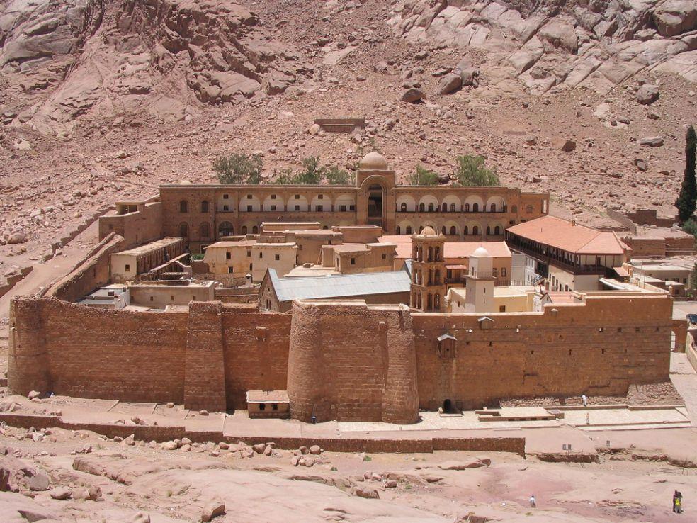 Библиотека Монастыря Святой Катерины – Южный Синай, Египет