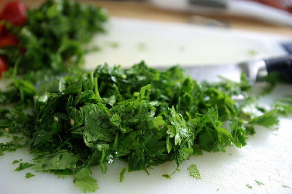Летний салат с кус-кусом фото-рецепт