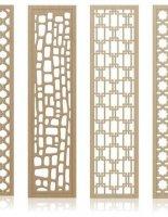 POSm EXPERT разработала 48 новых оригинальных дизайна декоративных перегородок для зонирования пространства в комнате, квартире, загородном доме, офисе, кафе или ресторане
