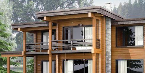 Сколько стоит дом из клееного бруса?